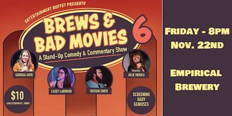 Brews & Bad Movies 6: Baby Geniuses tickets