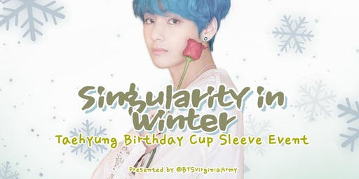 BTS: Taehyung Birthday Cup Sleeve Event