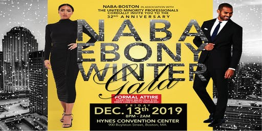 32nd Annual NABA/UMP Ebony Winter Gala - Omega Men In Action Inc.
