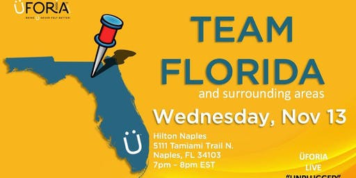 Uforia Live Unplugged - Naples Florida with Ron Williams