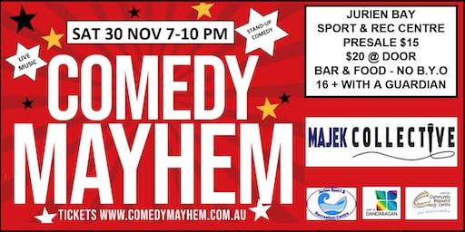 Comedy Mayhem Jurien Bay