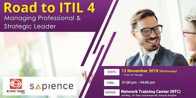 Road to ITIL 4 Managing Professional & Strategic L