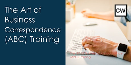The Art of Business Correspondence (ABC) Training tickets