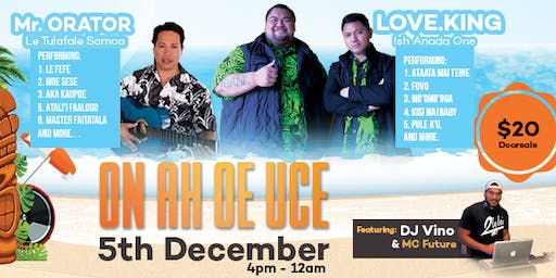 ON AH OE UCE - Live Concert in SAMOA