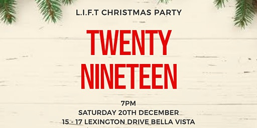L.I.F.T CHRISTMAS PARTY