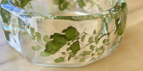 ResArtDesigns Eco Resin Botanical Bangle [2 PART] Workshop tickets