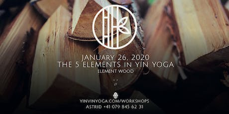 The 5 Elements in YIN YOGA - Element Wood tickets