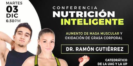 Nutrición inteligente: Aumento de masa muscular y oxidación de grasa boletos