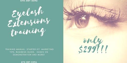 $299 Eyelash Extension Training