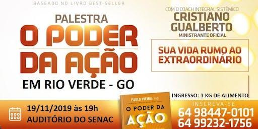 Workshop O Poder da Ação Rio Verde/GO