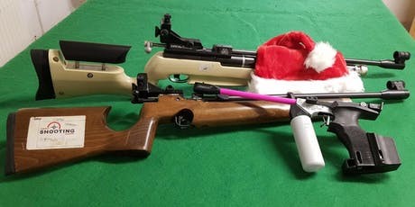 Christmas Special - Parent and Child Air Rifle/Pistol Session Fri 27 Dec tickets