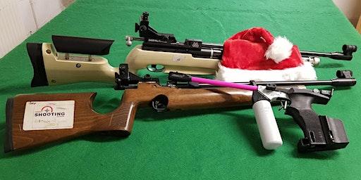 Christmas Special - Parent and Child Air Rifle/Pistol Session Fri 27 Dec
