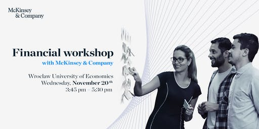 Financial workshop with McKinsey & Company