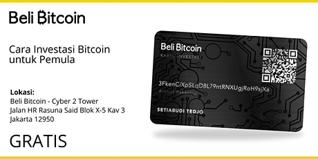 Cara Investasi Bitcoin untuk Pemula (Sertifikat) - Crypto Blockchain tickets