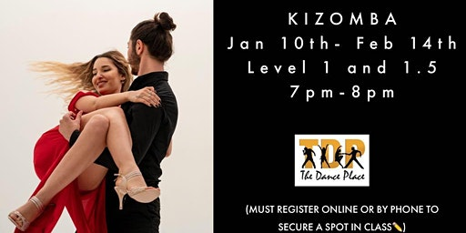 RING IN THE NEW YEAR WITH KIZOMBA: LEVEL 1 AND 1.5