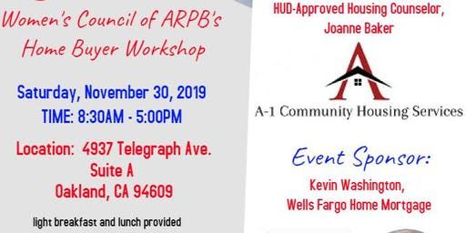 1st Time Home Buyer Workshop (HUD Approved Certification Course)