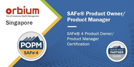 SAFe Product Owner/Product Manager Certification Class, Singapore tickets
