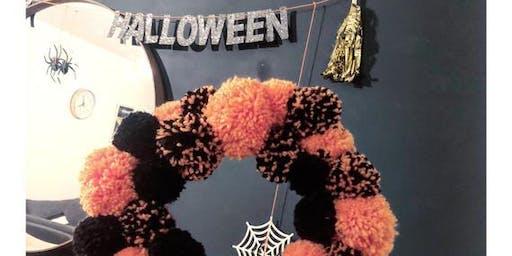 Halloween Pom Poms