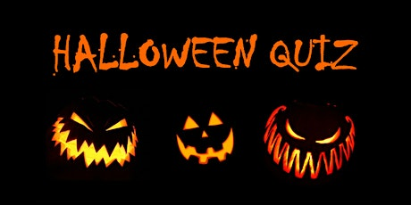 Halloween Quiz tickets