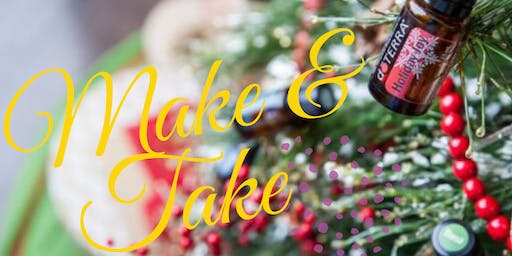 Make & Take Essential oil Workshop
