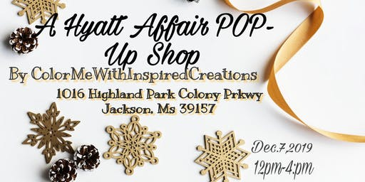 A Hyatt Affair Pop-Up Shop