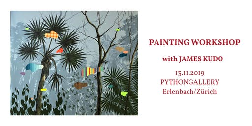 Painting workshop with James Kudo (+ wine & tapas degustation)