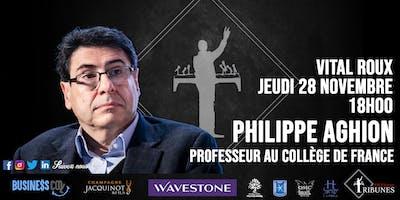 Tribunes et la Fondation France-Israël reçoivent Philippe Aghion