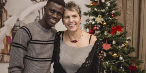 A cena con Refugees Welcome - la cena di Natale di RW Torino