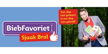 Haags avondje met BiebFavoriet Sjaak Bral tickets