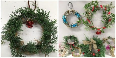 Dreaming of a Waste Free Christmas -  Wreath Making tickets