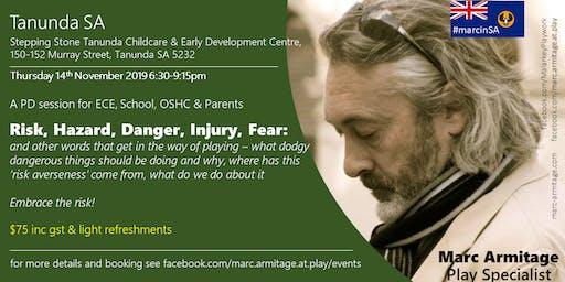 Risky Dodgy Dangerous Play at Tanunda SA