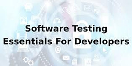 Software Testing Essentials For Developers 1 Day Training in San Diego, CA tickets