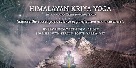 Introduction to Himalayan Kriya Yoga  tickets
