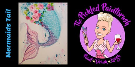 Painting Class - Mermaids Tail - November 21, 2019 tickets