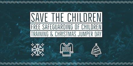 Safeguarding of Children Free training  Save the Children tickets