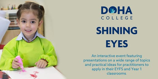 'Shining Eyes' Event for EYFS and Year 1 practitioners