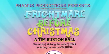 FRIGHTMARE BEFORE CHRISTMAS: a Tim Burton Ball tickets