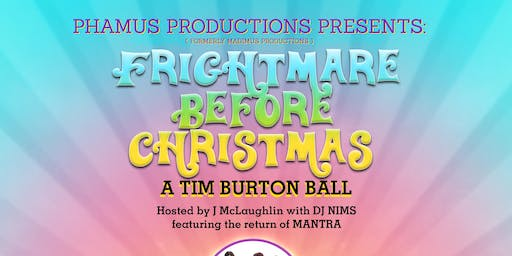 FRIGHTMARE BEFORE CHRISTMAS: a Tim Burton Ball