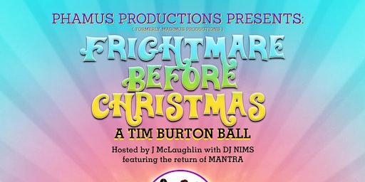 FRIGHTMARE BEFORE CHRISTMAS: a Tim Burton Ball