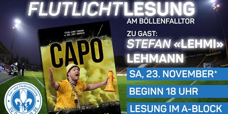 "Flutlichtlesung - Stefan ""Lehmi Lehmann zu Gast am Bölle Tickets"