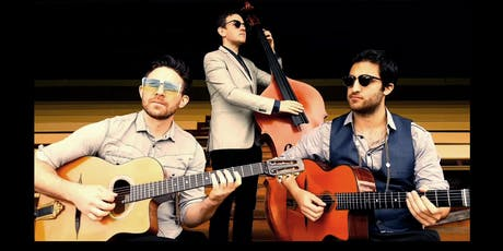 Catfish live at Nest.  Gypsy Jazz trio on the lawns tickets