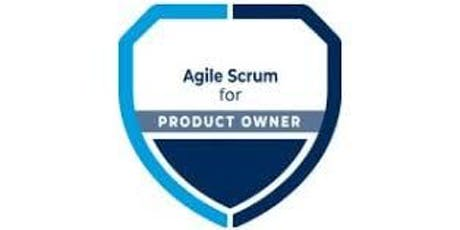 Agile For Product Owner 2 Days Training in Boston, MA tickets