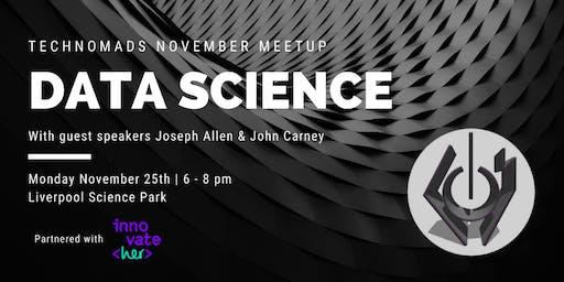 Tech Nomads November Meetup: Data Science