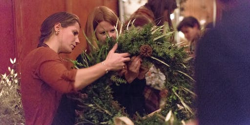 Winter Wreaths with Adelaide's Secret Garden