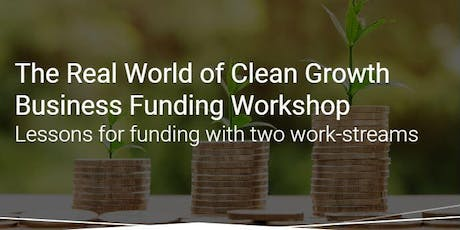 Clean Growth UK  - Access to Finance Workshop tickets