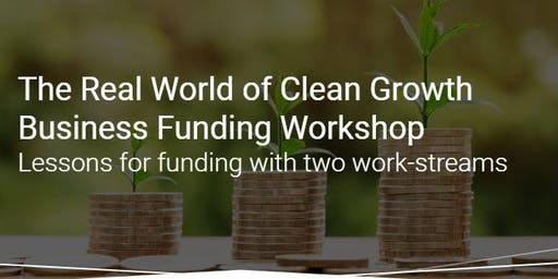 Clean Growth UK  - Access to Finance Workshop