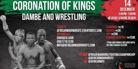 AWFC DECEMBER 2019 - THE CORONATION OF KINGS tickets
