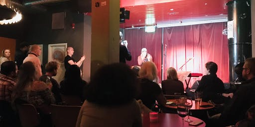 Open Mic Party with Live Music - Who Killed the Poet?