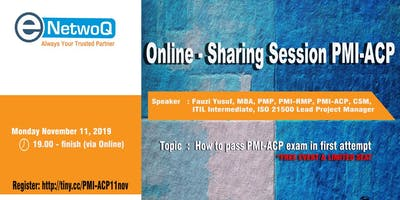 Online Sharing Session PMI - ACP