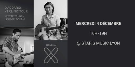 XT Clinic Tour D'Addario | Star's Music Lyon